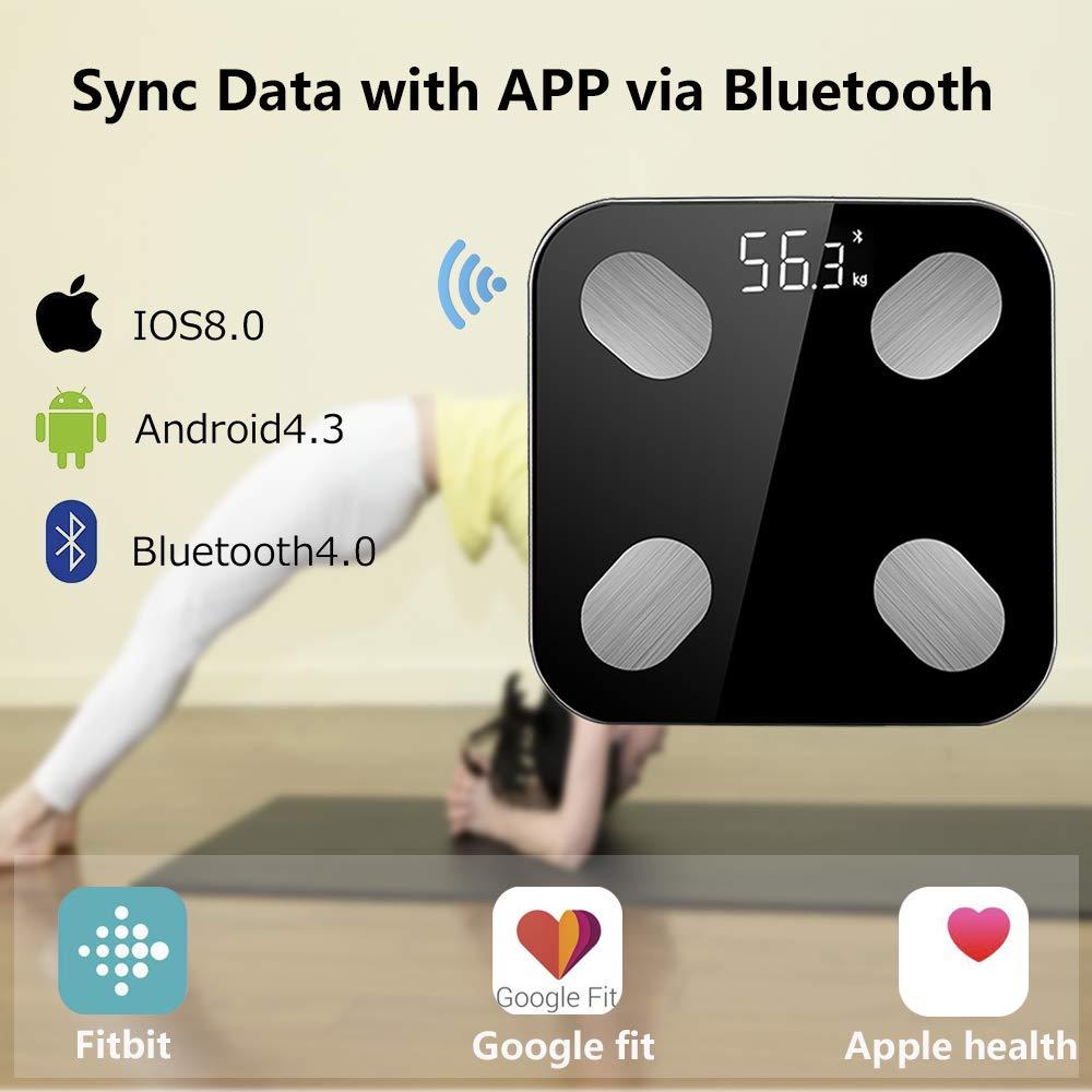 Bluetooth Bathroom Smart Scale